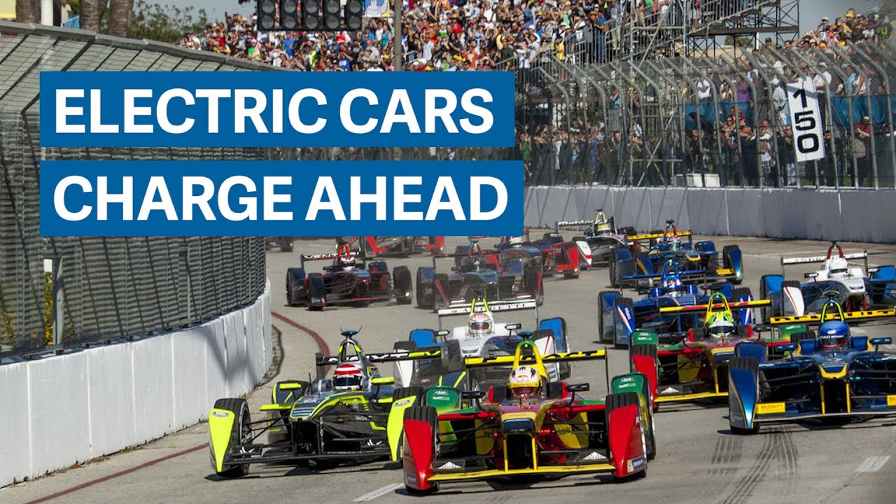 These Electric Race Cars Look Just Like Formula 1 But Are Eerily Quiet