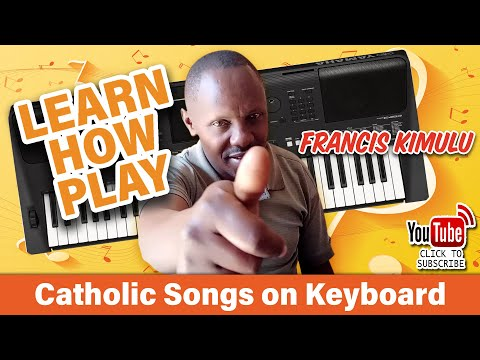 How to play Catholic Songs on Piano Keyboard #Lesson 2:how to play the chords of KEY G