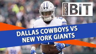 Dallas Cowboys vs New York Giants | Sports BIT Clip | NFL Betting Tips