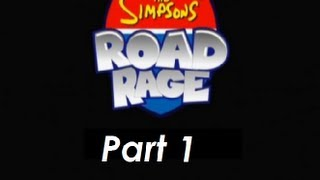 The Simpsons: Road Rage (PS2) Gameplay (Part 1)