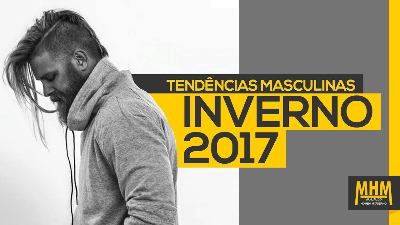ab6bbcc3ea ⚫ Moda Masculina Inverno 2017  6 tendências de roupas para homem ...