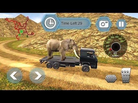 Animal Transport Zoo Edition - Big City Animals || Animal Truck Transport Racing - Zoo Animals Games