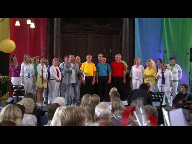 Popkoor Yes, Lustrum Concert, 13 mei 2017 concert 1, set 1 deel 2