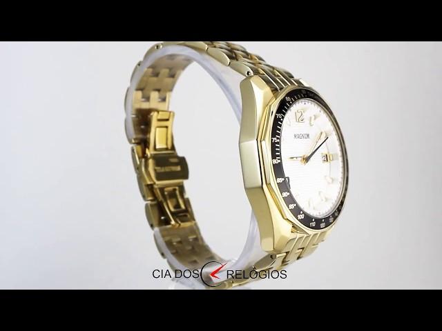 b56eee82cd0 Relógio Dourado