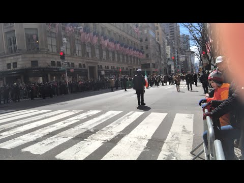 NYC St. Patrick's Day Parade 2018 - LIVE from New York City