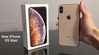 Unboxing MY NEW iPhone! (iPhone XS Max)