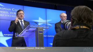 December 2012 European Council Day 1
