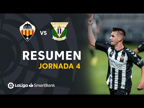 Castellon Leganes Goals And Highlights