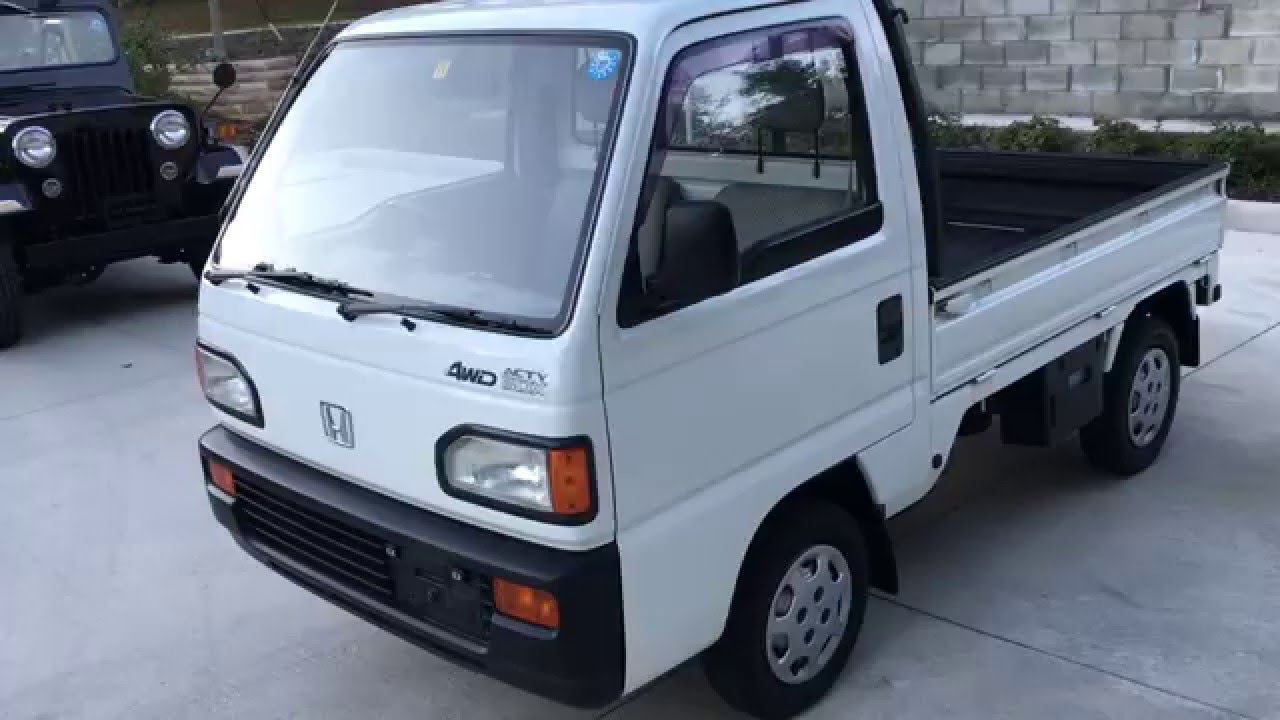 Honda Acty Truck Fulltime 4WD AWD 4x4