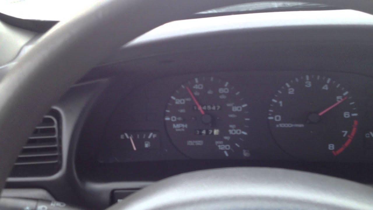 1999 Nissan Altima 2 4L 0 60 MPH