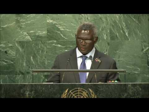 SOLOMON ISLANDS - PRIME MINISTER ADDRESSES GENERAL DEBATE, 71ST SESSION