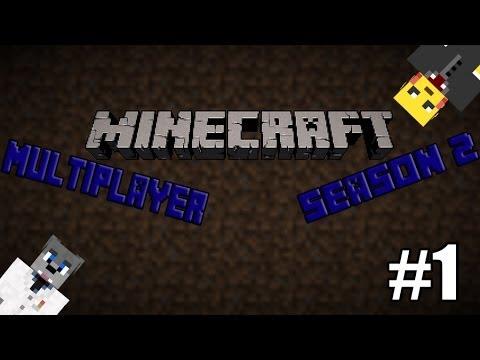 Minecraft Multiplayer Season 2 Επεισόδιο 1:H Αρχή,