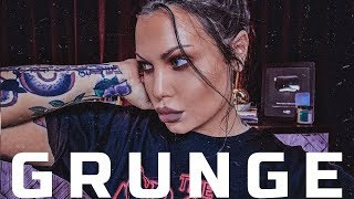 EASY Grunge Makeup Tutorial - Grunge makeup look - 90s makeup  | Baile