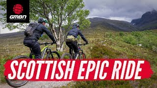 Riding The Nevis Range | GMBN Epic Ride In Scotland
