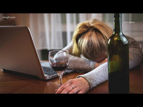Experts say alcohol abuse spiked among women during pandemic