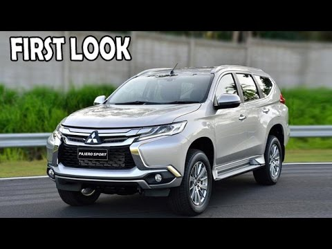 2016 Mitsubishi Pajero Sport | First Look | Upcoming SUV's In India