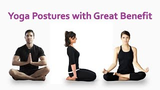 Yoga Postures with great benefit-Dilip Tiwari-Health For You