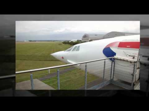 Concorde aeroplane photographs and video gallery. Mach 2 jet aircraft.