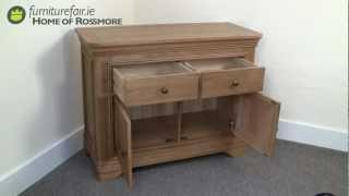 Loren Oak Small Sideboard