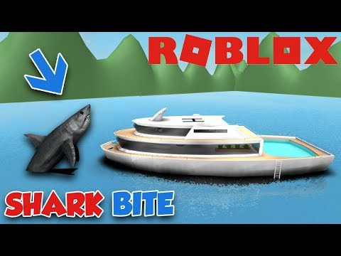 GIANT SHARK CRASHED MY $1,000,000 DOLLARS YACHT (ROBLOX SHAR