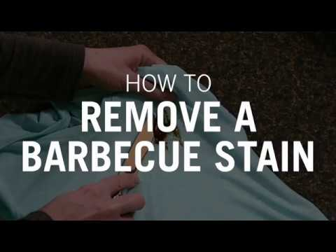 How to Remove a BBQ Stain