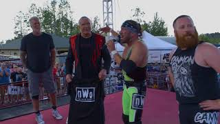 The nWo reunites in 2018, inducts a new member!