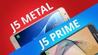 Galaxy J5 Prime vs Galaxy J5 Metal [Comparativo]