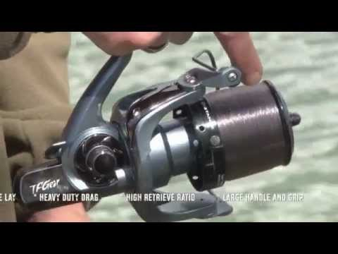 TF Gear V10 Big Pit Reel from Total Fishing Gear - YouTube