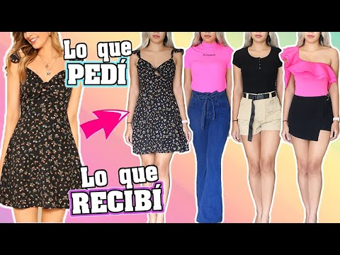 HAUL ROPA CHINA: LO QUE PEDÍ VS LO QUE RECIBÍ SHEIN ♡│Mirianny from YouTube · Duration:  15 minutes 33 seconds