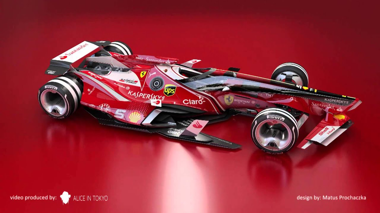 & F1 Ferrari 2030 concept - YouTube