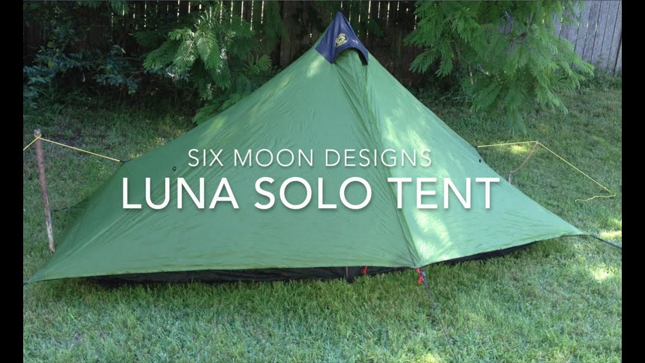 & Six moon Design Lunar Solo Tent - YouTube