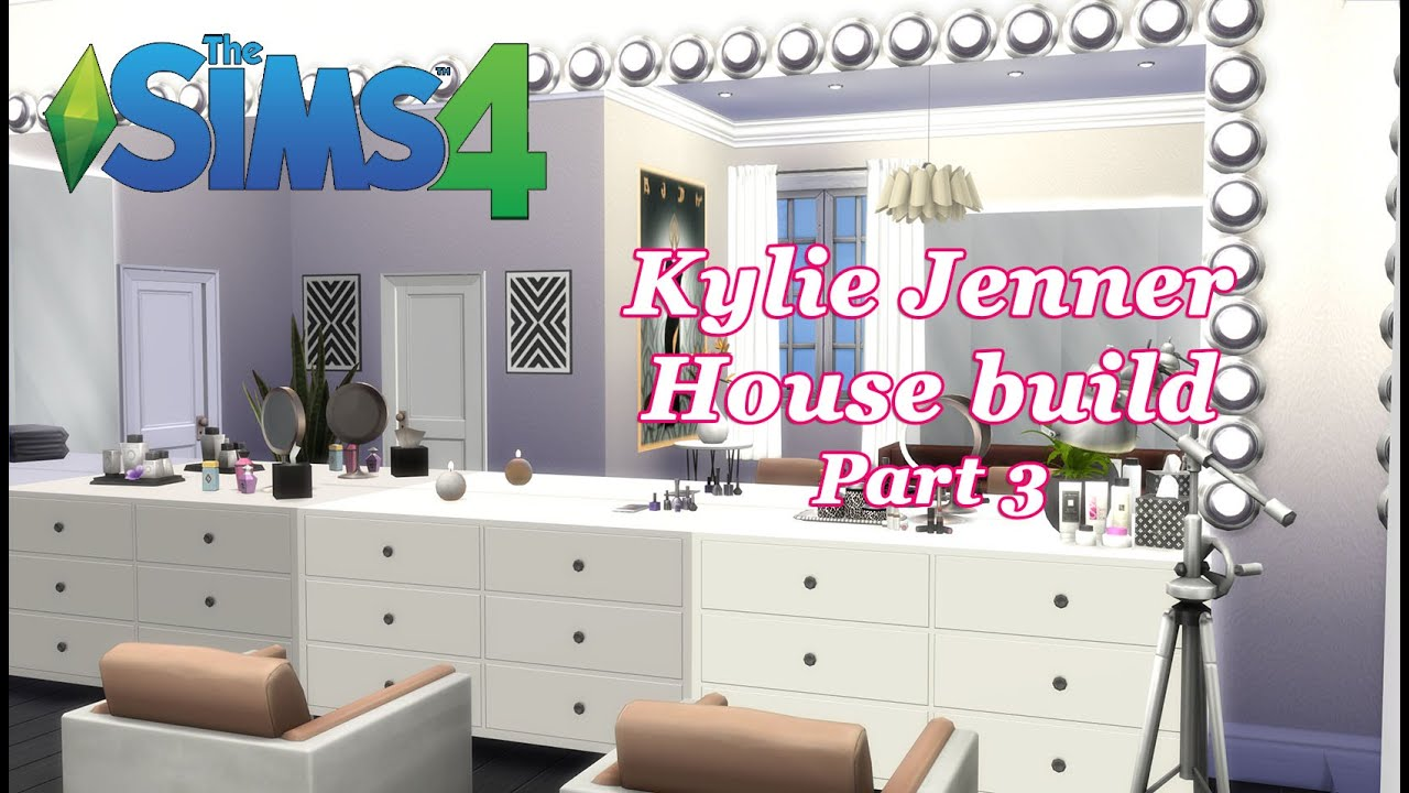 The Sims 4 - Kylie Jenner House Build CC - Glam Room (Part 3 ...