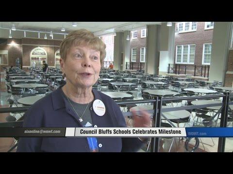 Council Bluffs Schools Celebrates Milestone