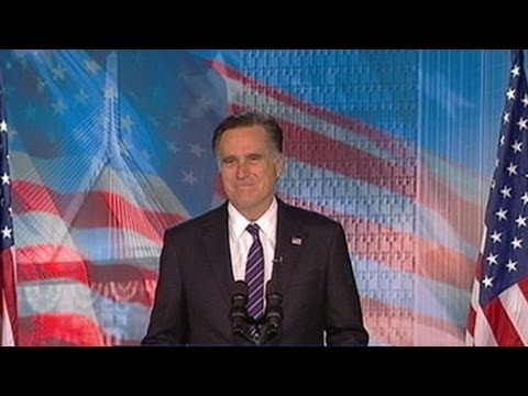 Mitt Romney Concession Speech: 2012 Presidential Election GOP Candidate Delivers Remarks from Boston