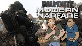 Let's Play Call of Duty: Modern Warfare Cross-Platform Co-op gameplay - IAN AND PJ PLAY SPEC OPS!