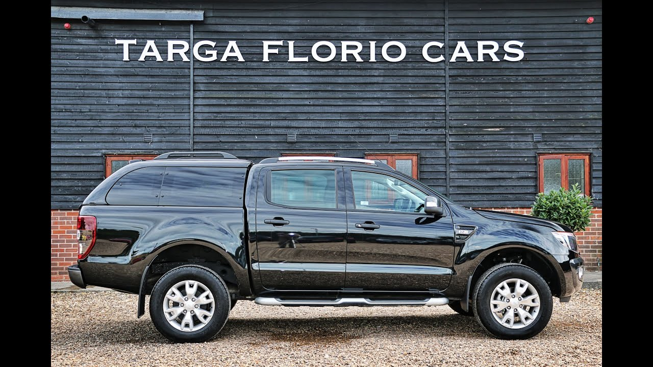 Ford Ranger Wildtrak 32 TDCI In Panther Black London UK