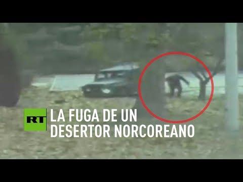 Publican el video de la fuga de un desertor norcoreano a Corea del Sur