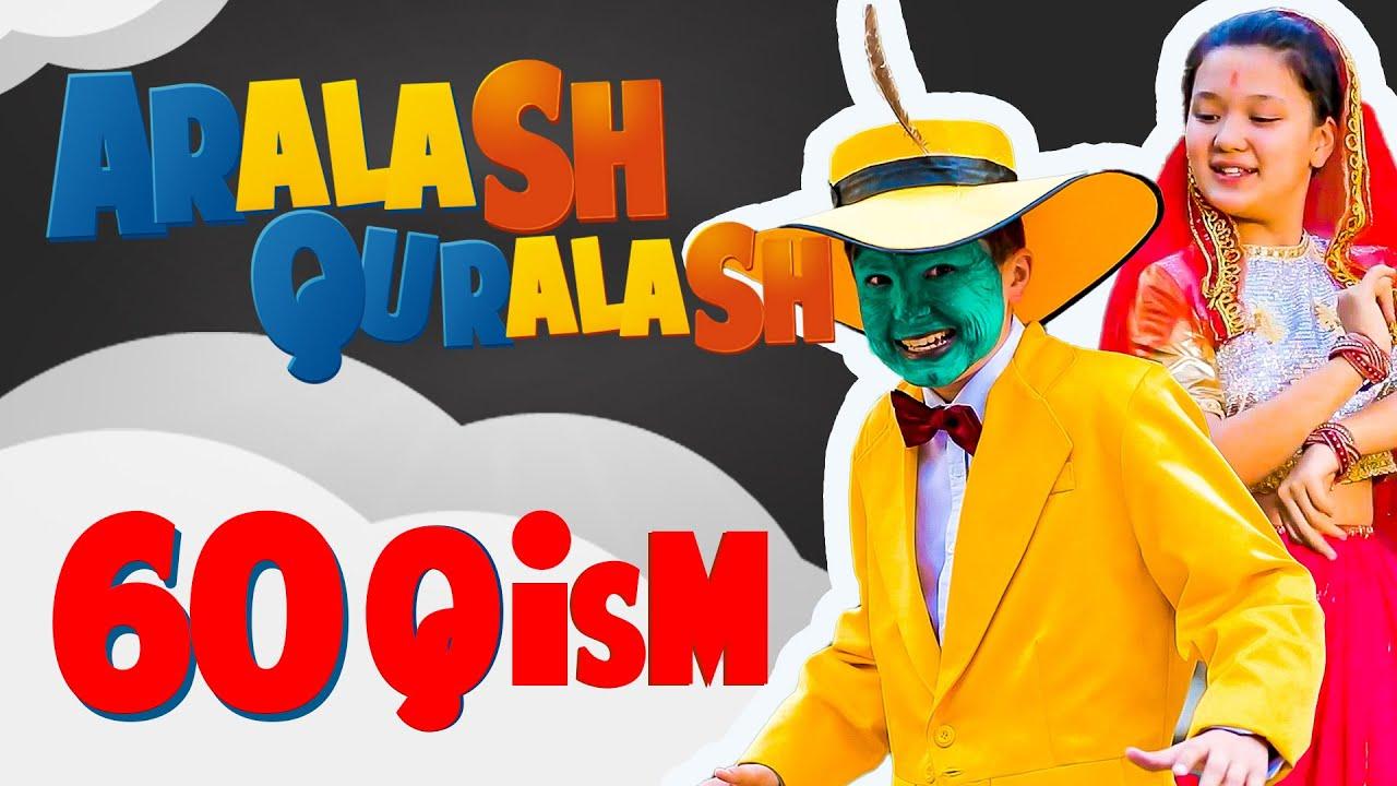 Aralash Quralash / 60 QISM: Kino muxlis онлайн томоша килиш