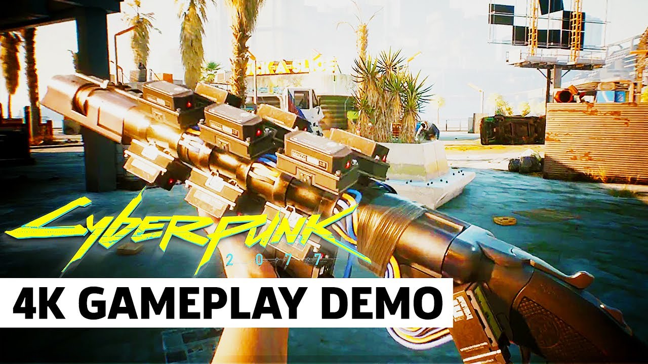 Cyberpunk 2077 — Official Gun Combat Gameplay Trailer