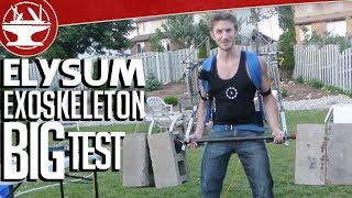 Elysium Exoskeleton Part 16: The Big Test, 170LB Barbell Curl