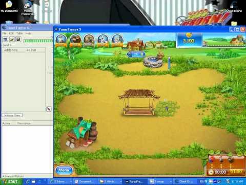 สอนแฮกเกม farm frenzy 3 แบบง่ายๆ