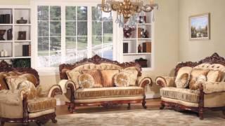 Мягкая мебель для гостиной в классическом стиле (Китай).  Living room sets in a classic style(, 2016-05-20T12:31:28.000Z)