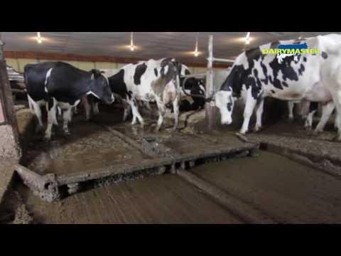 Dairymaster Alley Scraper [Debauch Organic Dairy Farm WI, USA]