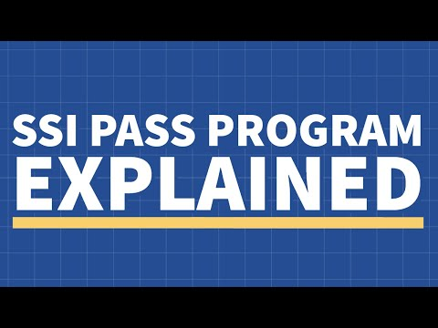 SSI & SSDI - PASS Program Explained