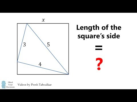 What Is The Length Of The Square's Side?