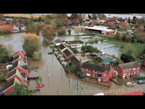Fishlake Floods - River Don (12 Nov 2019)