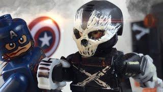 Lego MARVEL: Crossbones (Captain America: Civil War)- Custom Minifigure