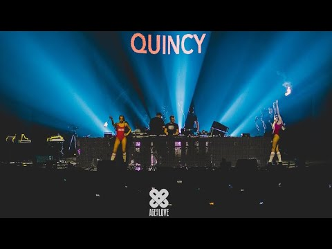 QUINCY Live - 10 Years Age of Love | Lotto Arena Antwerp 23.02.2018