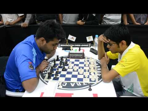 Start of Srinath – Kore game from Finals