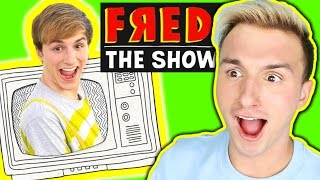 "REACTING TO MY FAILED NICKELODEON SHOW ""FRED: THE SHOW"""